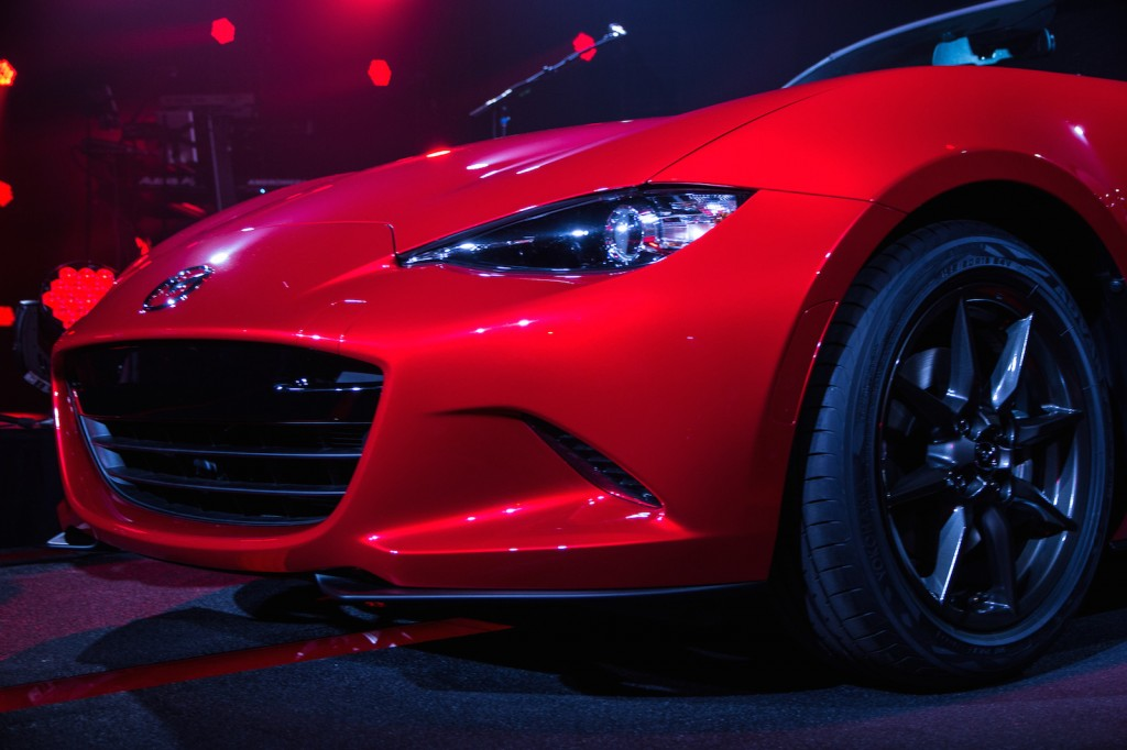 Excellent 2016 Mazda MX5 Miata Unveiled Live Photos Amp Video