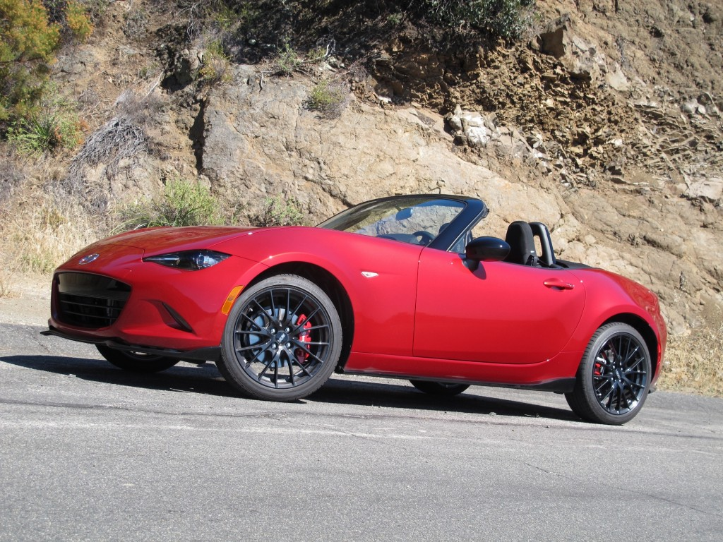 2016 mazda mx 5 miata video road test. Black Bedroom Furniture Sets. Home Design Ideas