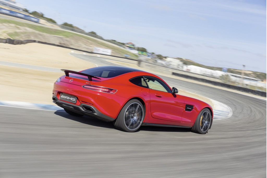 2016 mercedes benz amg gt s first drive. Black Bedroom Furniture Sets. Home Design Ideas