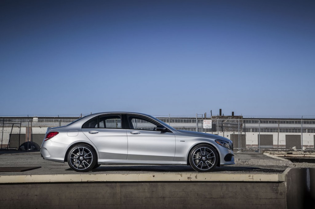 2016 mercedes benz c450 amg first drive video for Mercedes benz c450