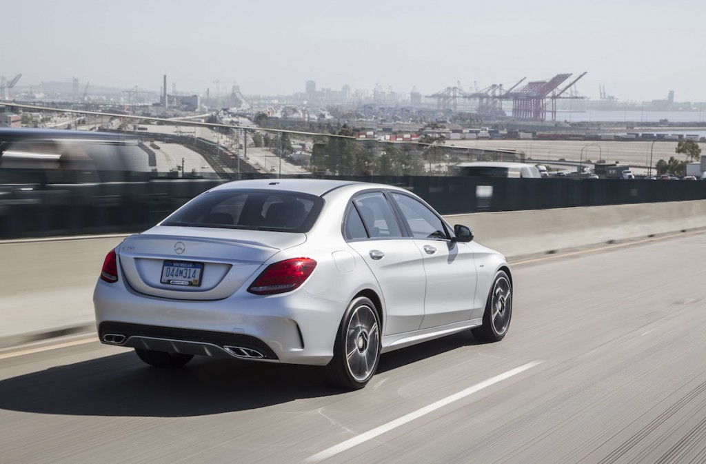 2016 mercedes benz c450 amg first drive video for Mercedes benz c450 amg