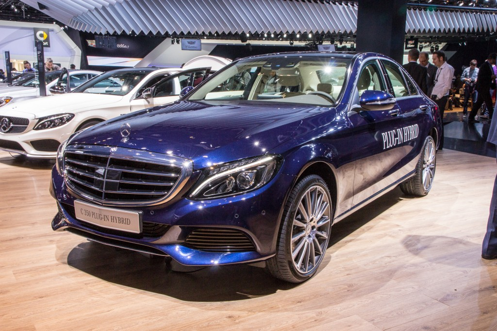 2016 Mercedes-Benz C350 Plug-In Hybrid: 2015 Detroit Auto
