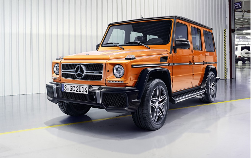 2016 Mercedes Benz G Class Benefits From New V 8 Chassis