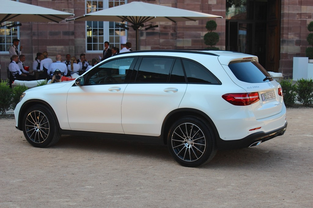 2016 mercedes benz glc first drive for Mercedes benz glc