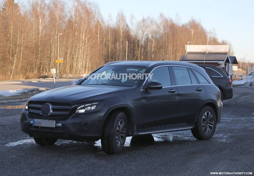 2016 mercedes benz glc glk class spy shots for Mercedes benz glc