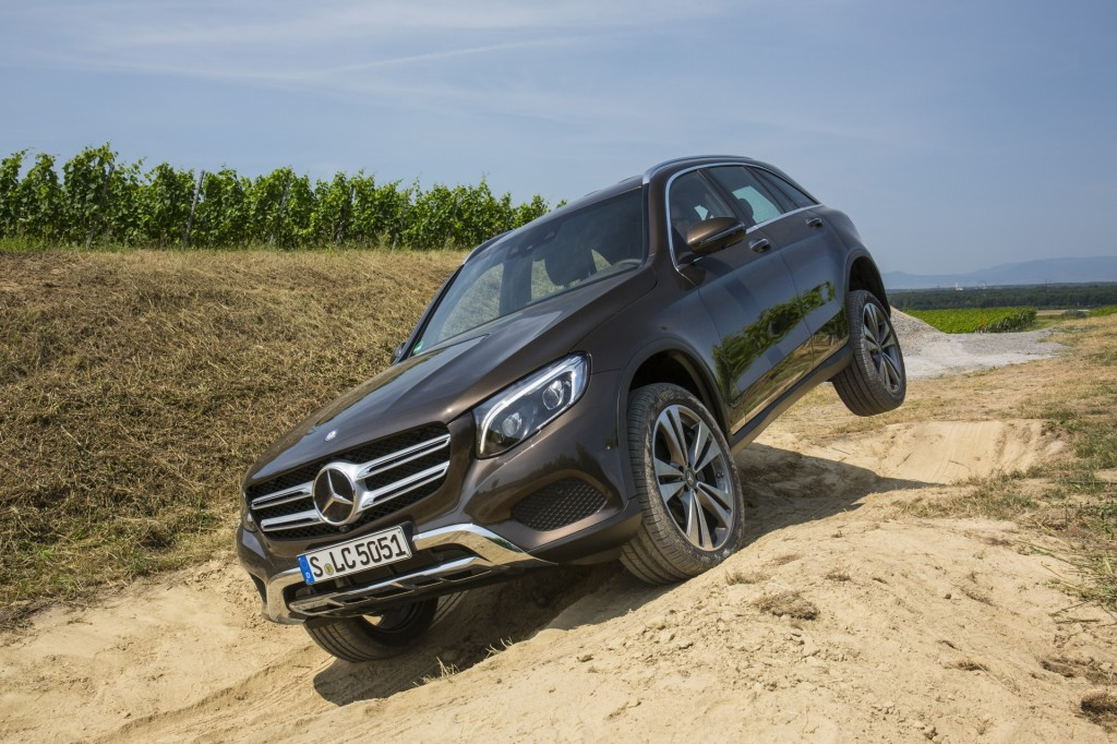 2016 mercedes benz glc u s won 39 t get off road package for Mercedes benz packages