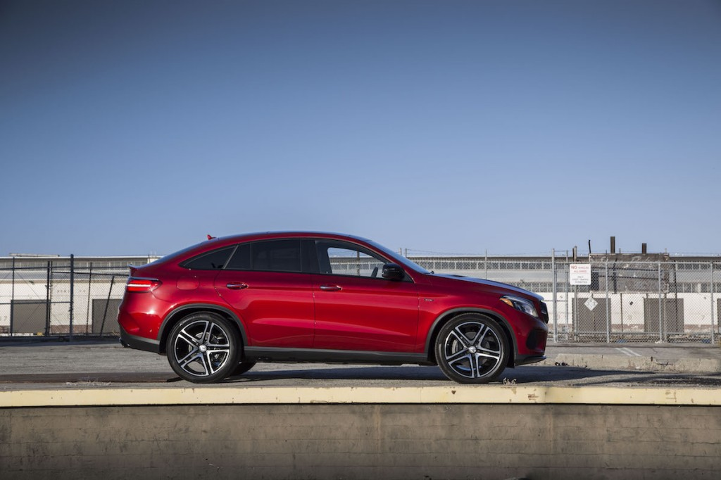 2016 mercedes benz gle450 amg coupe first drive video for Okay google mercedes benz