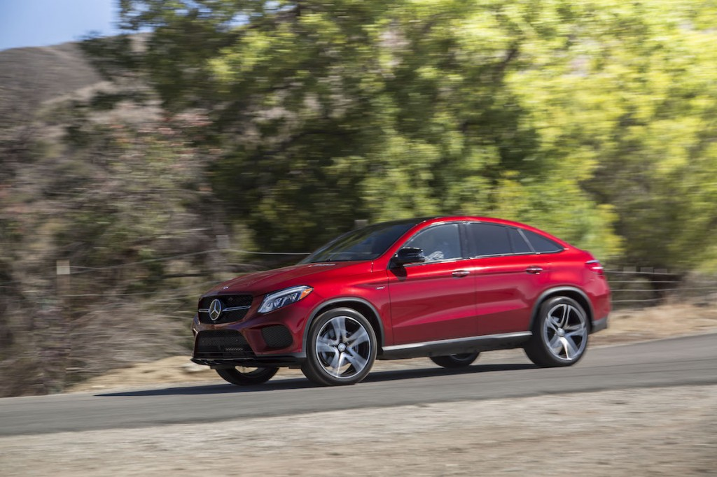 2016 mercedes benz gle450 amg coupe first drive video for 2016 mercedes benz gle 450