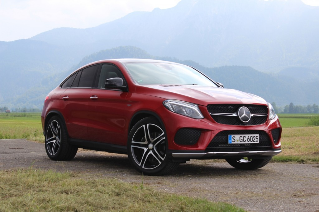 2016 mercedes benz gle coupe first drive. Black Bedroom Furniture Sets. Home Design Ideas