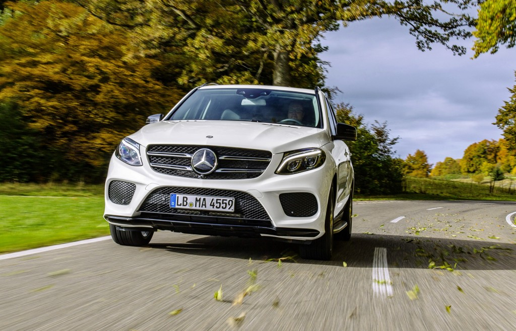 2016 mercedes benz gle450 amg 4matic joins growing amg for Mercedes benz gle class