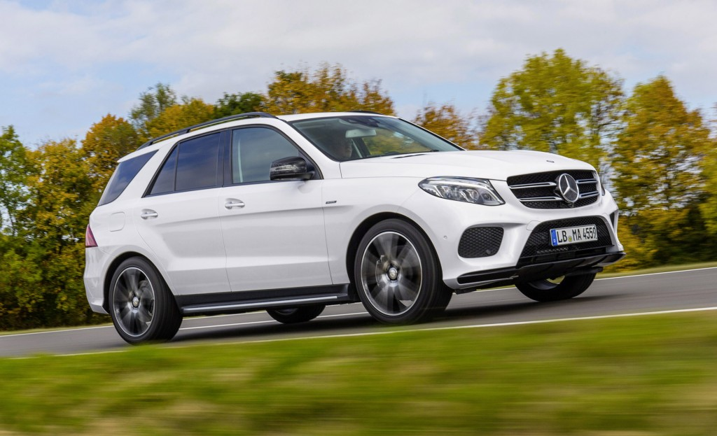 2016 mercedes benz gle450 amg 4matic joins growing amg. Black Bedroom Furniture Sets. Home Design Ideas