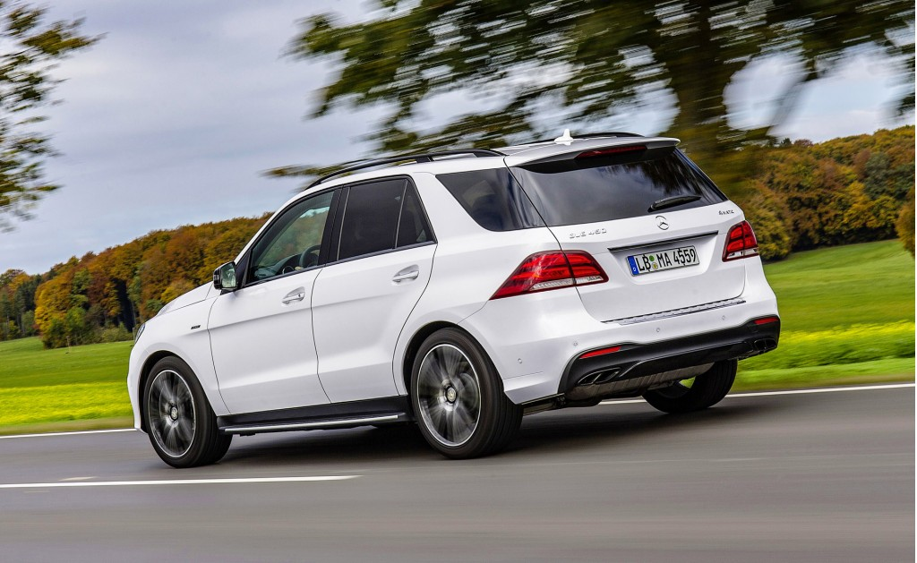 2016 mercedes benz gle450 amg 4matic joins growing amg sport arsenal. Black Bedroom Furniture Sets. Home Design Ideas