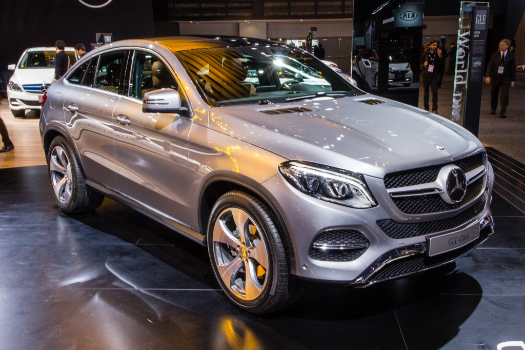 2016 Mercedes Benz Gle Coupe Debuts At 2015 Detroit Auto Show
