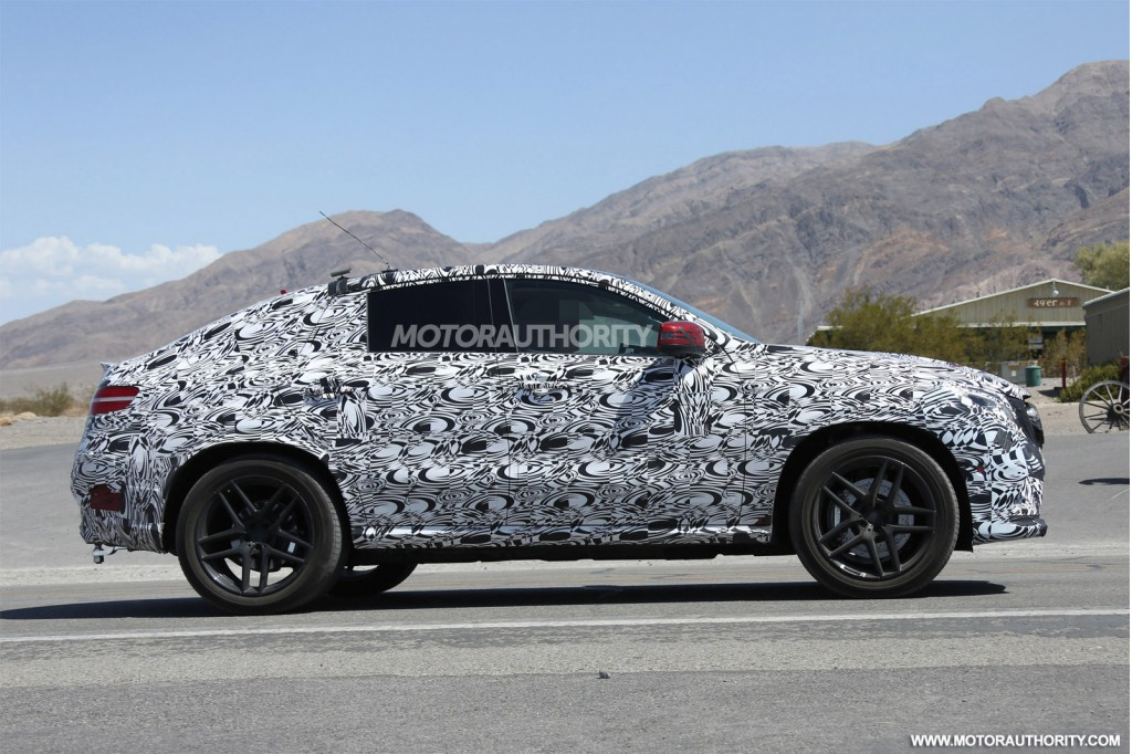 2016 Mercedes Benz M Class Coupe Gle Class Coupe Spy Video