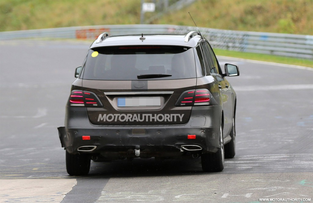 2016 mercedes benz m class gle spy shots for 2016 mercedes benz gle class