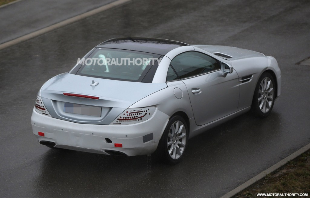 2016 mercedes benz slc spy shots for 2016 mercedes benz slk class msrp