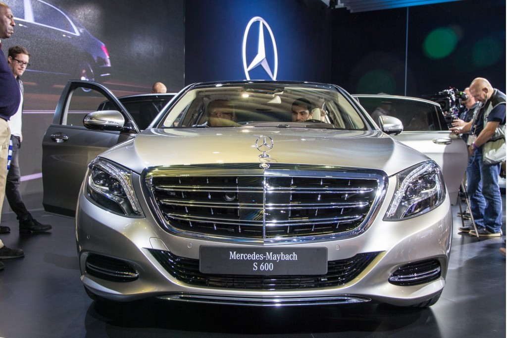 2016 Mercedes Maybach S600 2014 Los Angeles Auto Show