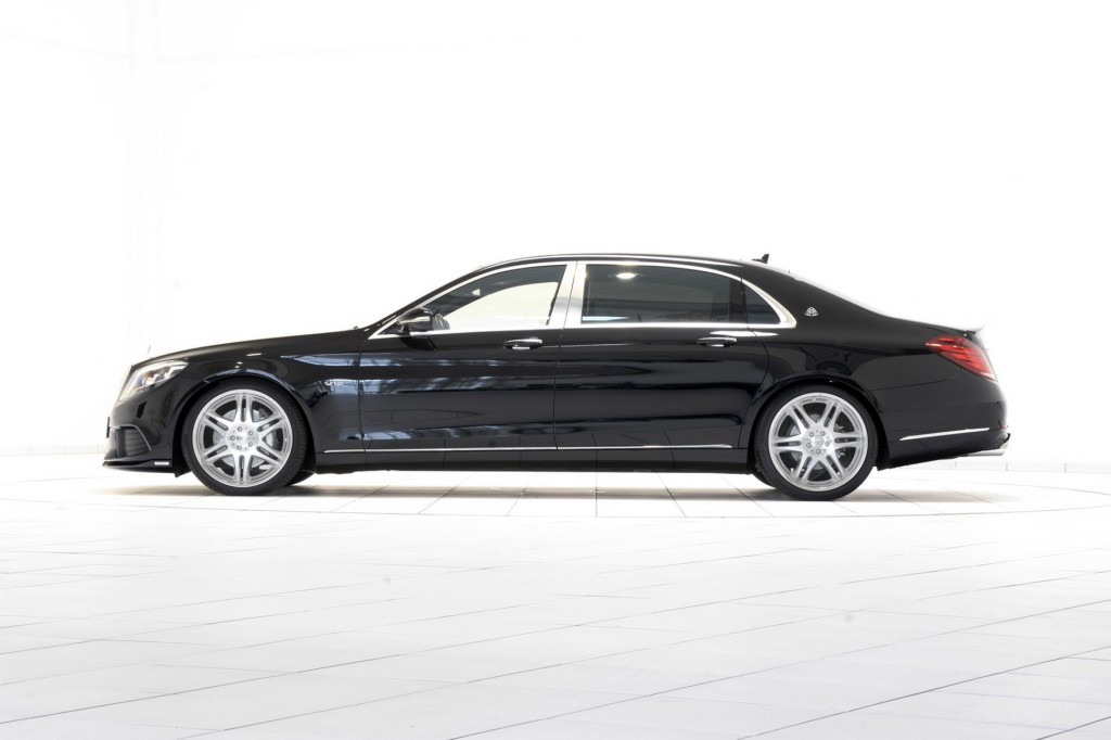the mercedes maybach s600 by brabus will hit 60 mph in
