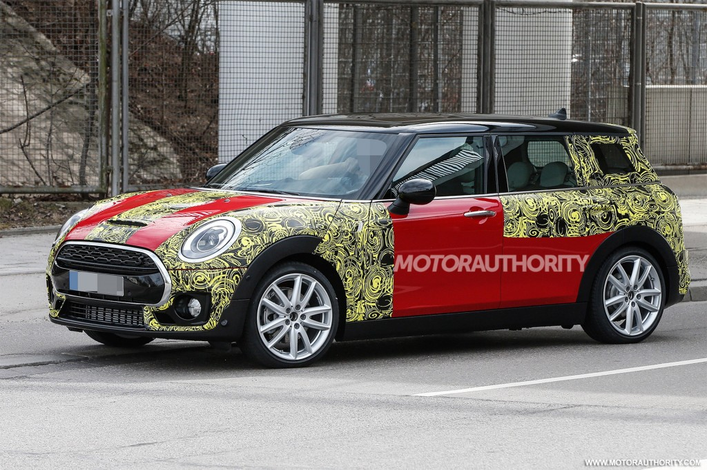 2016 mini john cooper works clubman spy shots. Black Bedroom Furniture Sets. Home Design Ideas