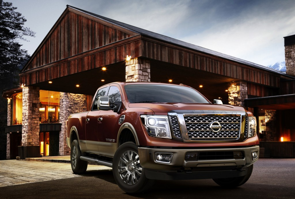 2016 nissan titan pictures photos gallery green car reports