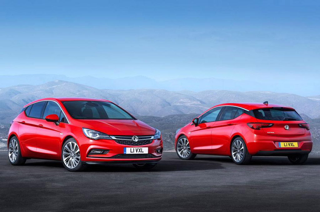 2016 opel astra revealed ahead of frankfurt auto show debut. Black Bedroom Furniture Sets. Home Design Ideas