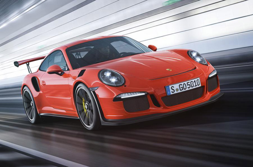 Porsche 911 GT3 RS Finally Revealed: Live Photos And Video ...
