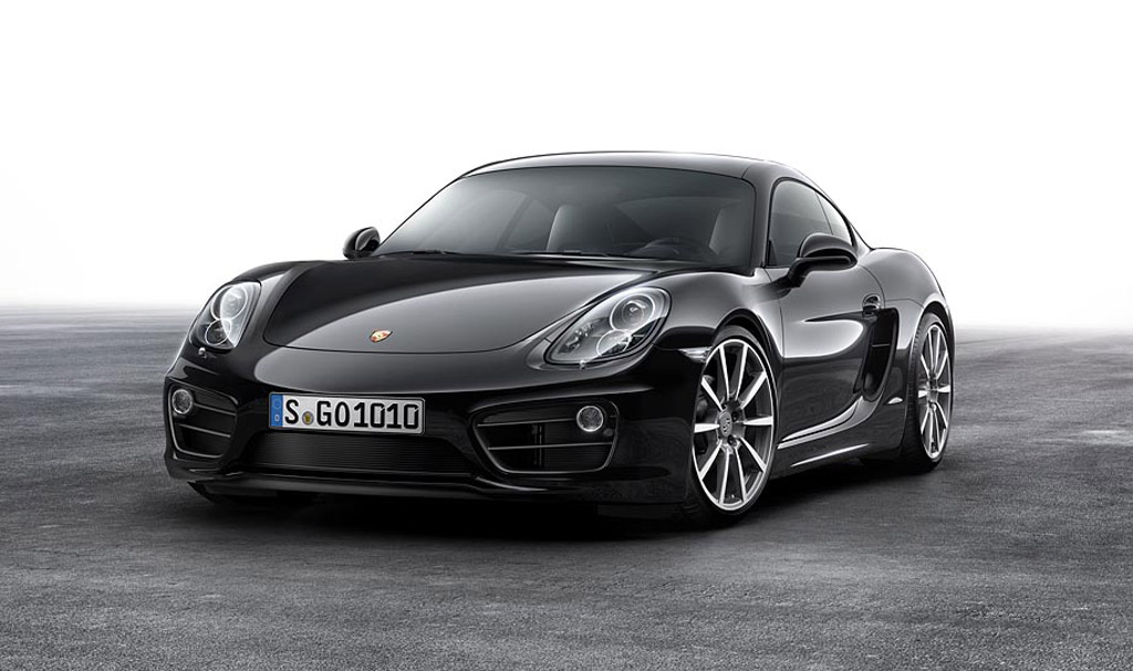 2016 Porsche Cayman Gets Black Edition Treatment