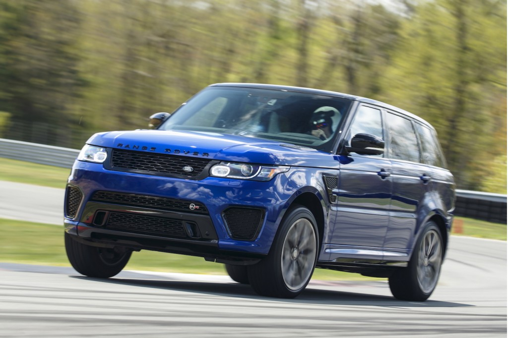 2016 range rover sport svr first drive. Black Bedroom Furniture Sets. Home Design Ideas