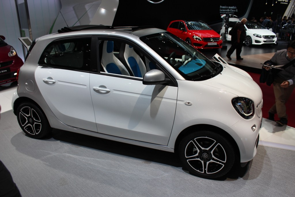 image 2016 smart forfour 2014 paris auto show size 1024 x 682 type gif posted on. Black Bedroom Furniture Sets. Home Design Ideas