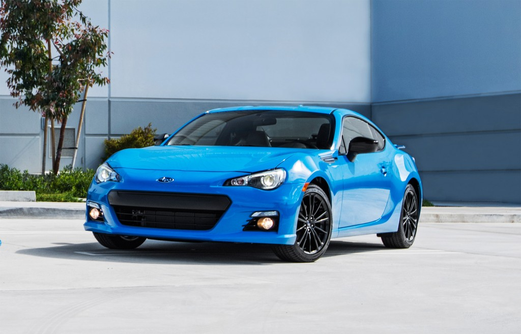 2016 subaru brz sports car gets lower price more equipment. Black Bedroom Furniture Sets. Home Design Ideas