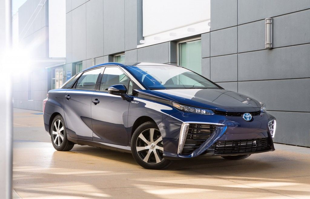 2016 Toyota Mirai Name For FuelCell Sedan; Hydrogen Station Funds