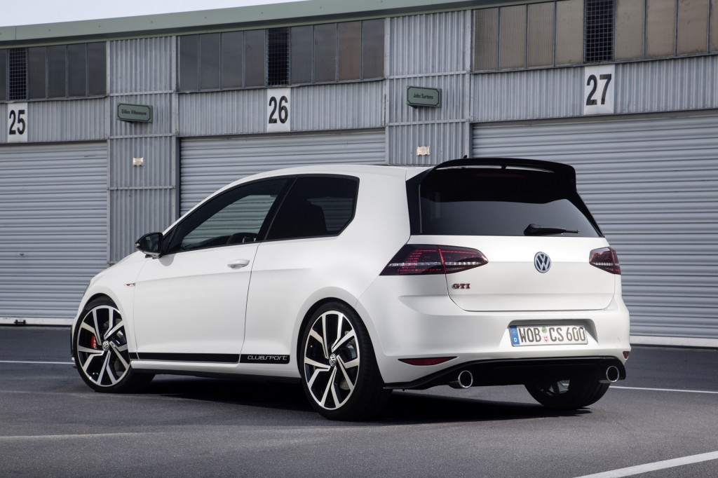 261 horsepower vw gti clubsport 40th anniversary model revealed. Black Bedroom Furniture Sets. Home Design Ideas