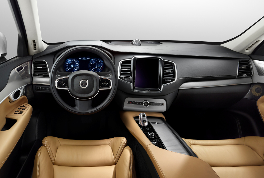 volvo releases performance specs for range topping 2016 xc90 t8. Black Bedroom Furniture Sets. Home Design Ideas