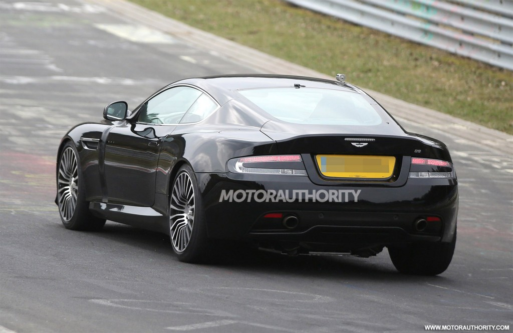 2017 Aston Martin DB11 (DB9 Replacement) Spy Shots