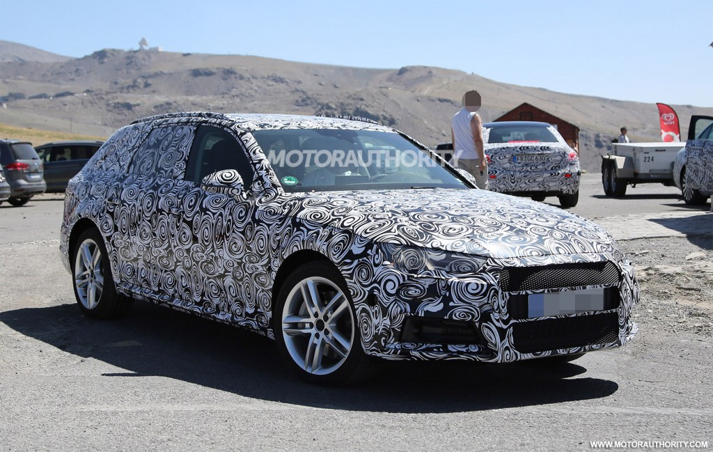2017 Audi A4 Allroad Spy Shots