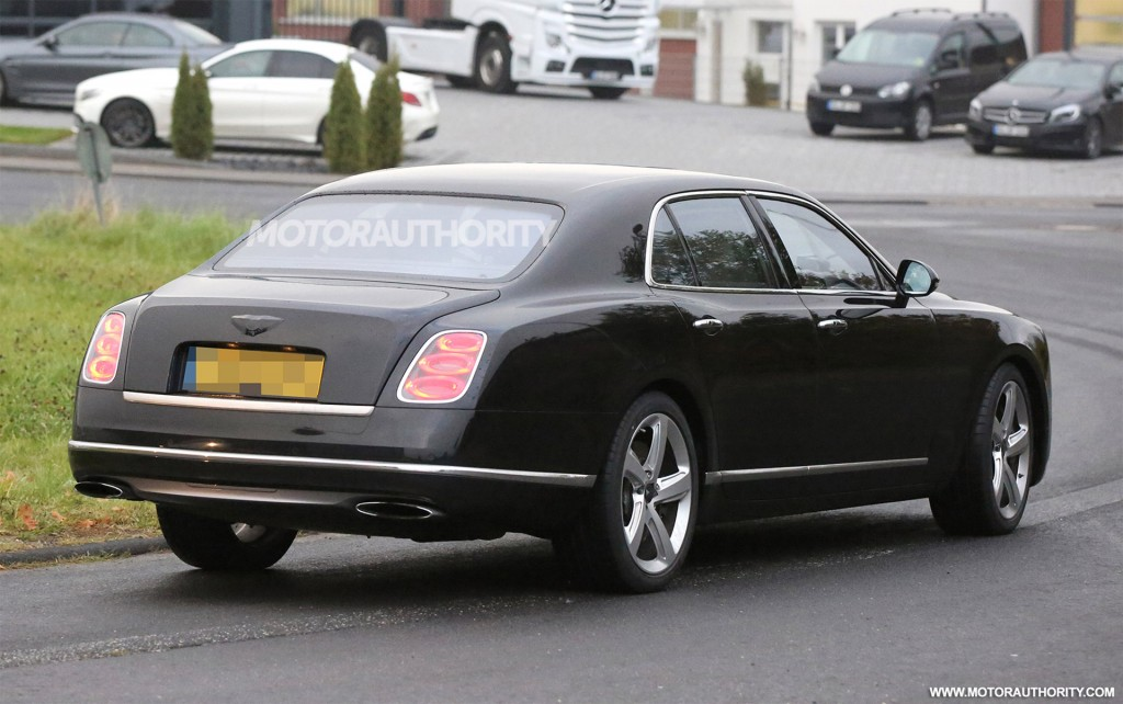 2017 Bentley Mulsanne Spy Photo | Specs, Price, Release Date, Redesign