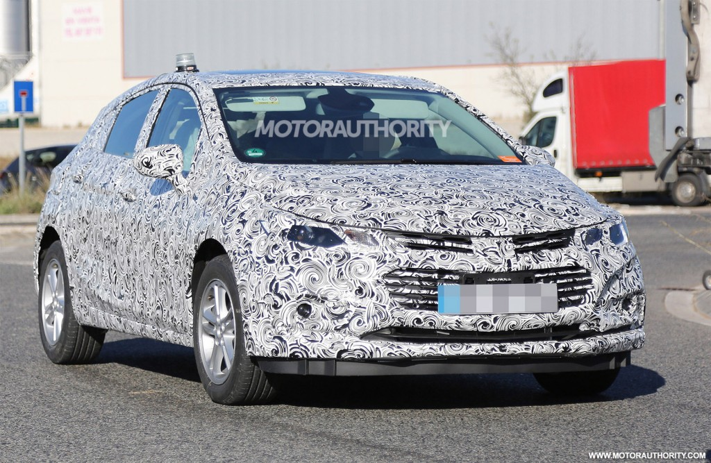 2015 Chevrolet Cruze Spy Shots Hybrid And Electric Car News And