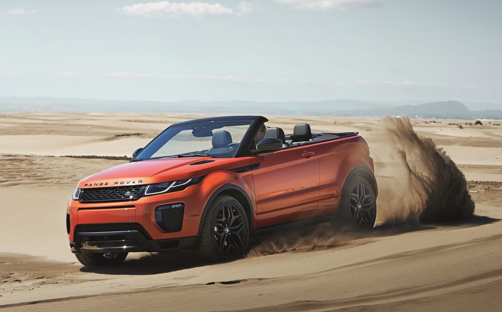 ... articles: 2017 Land Rover Range Rover Evoque Convertible Preview