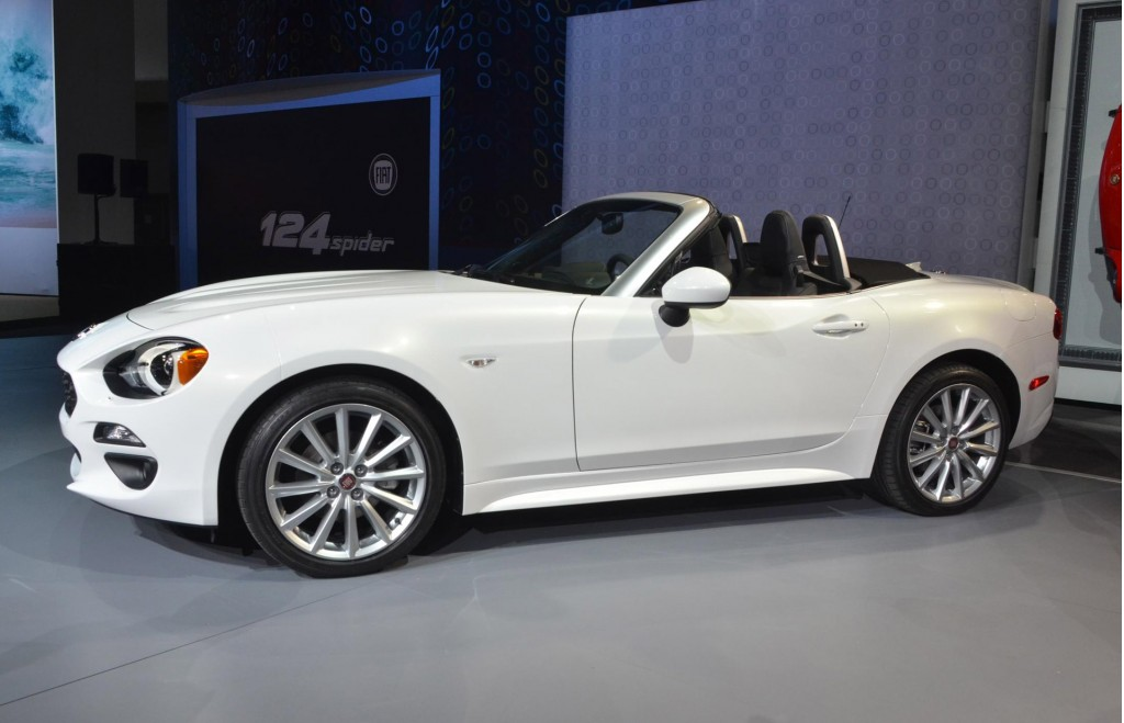 image 2017 fiat 124 spider 2015 los angeles auto show. Black Bedroom Furniture Sets. Home Design Ideas