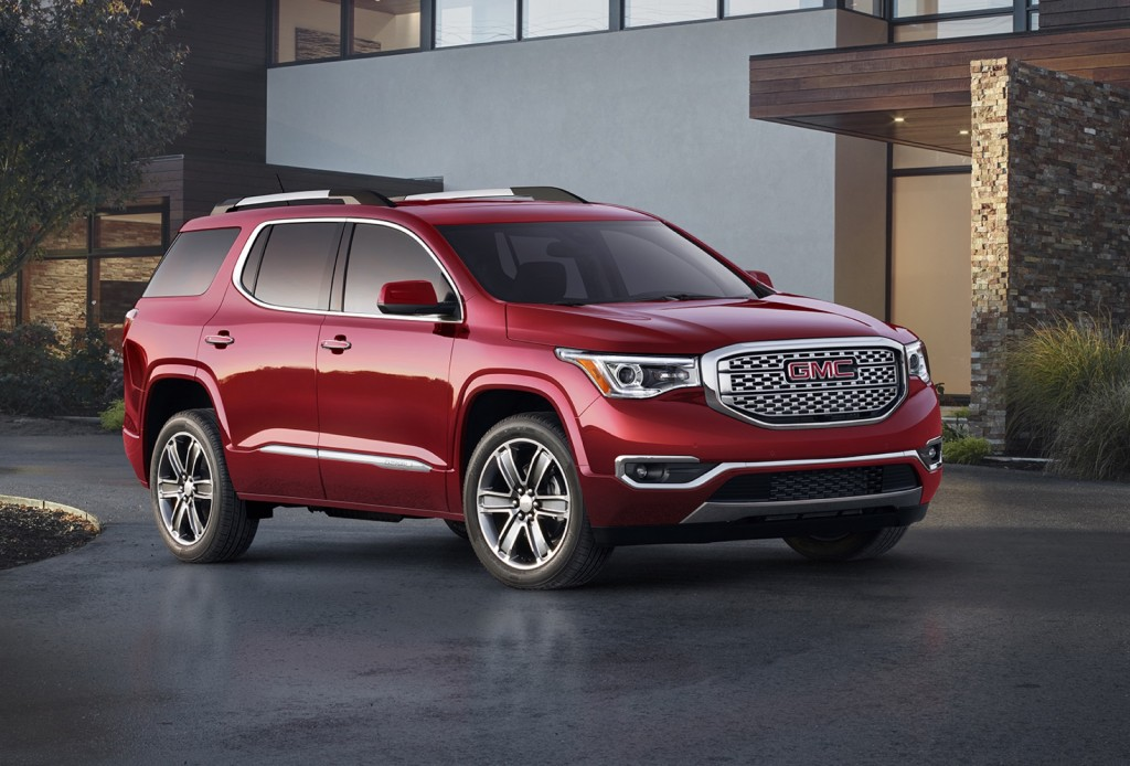 2017 gmc acadia first drive review the car connection 2017 2018 best cars reviews. Black Bedroom Furniture Sets. Home Design Ideas