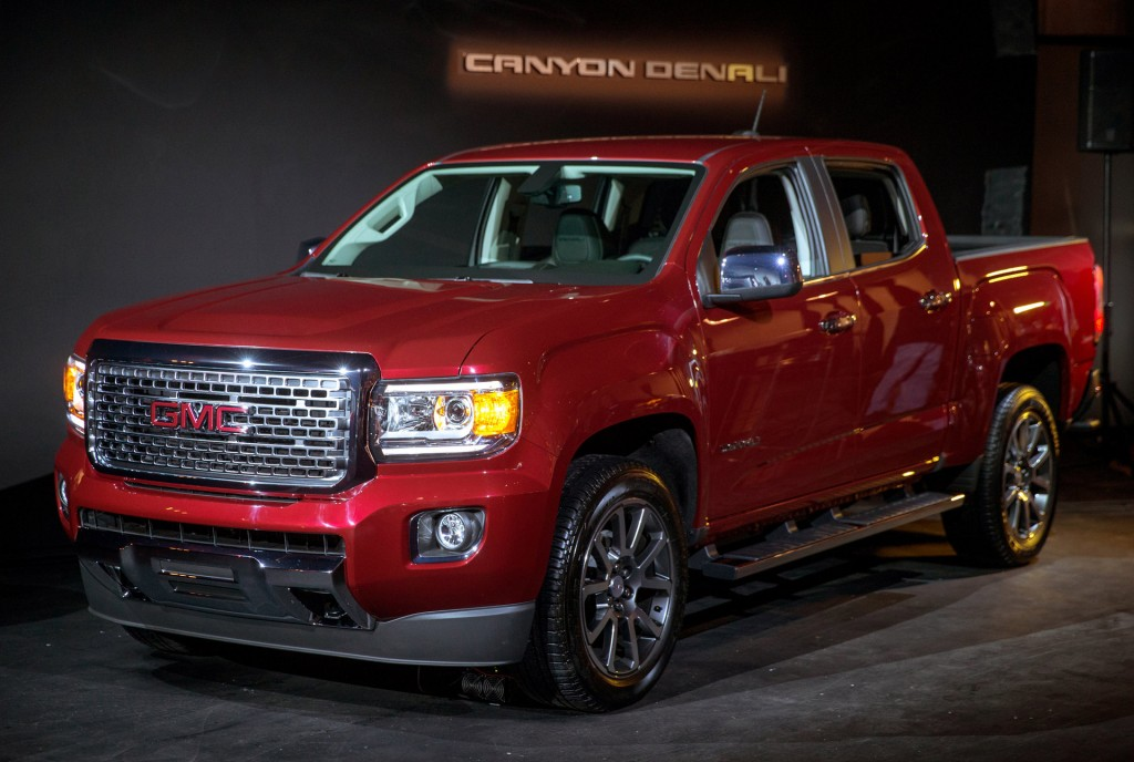 image 2017 gmc canyon denali 2015 los angeles auto show size 1024 x 688 type gif posted. Black Bedroom Furniture Sets. Home Design Ideas