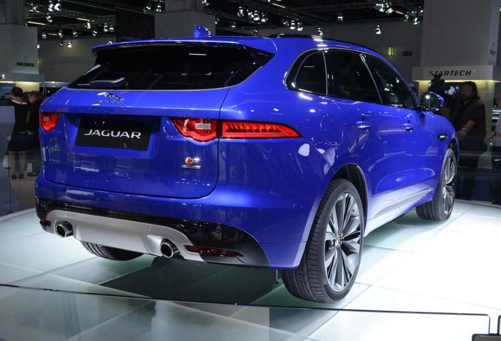 2017 jaguar f pace 2015 frankfurt auto show. Black Bedroom Furniture Sets. Home Design Ideas