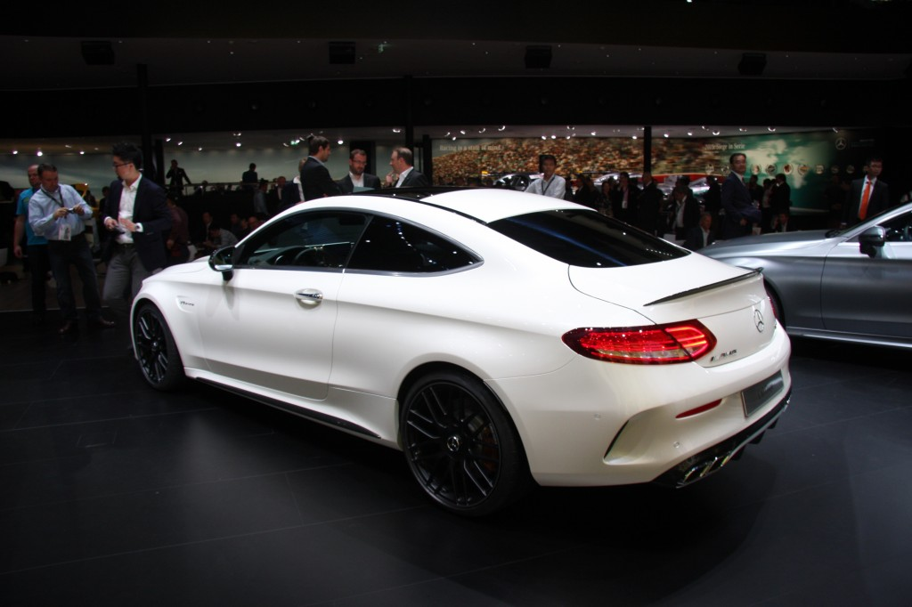 2017 mercedes amg c63 coupe 2015 frankfurt auto show live photos video. Black Bedroom Furniture Sets. Home Design Ideas