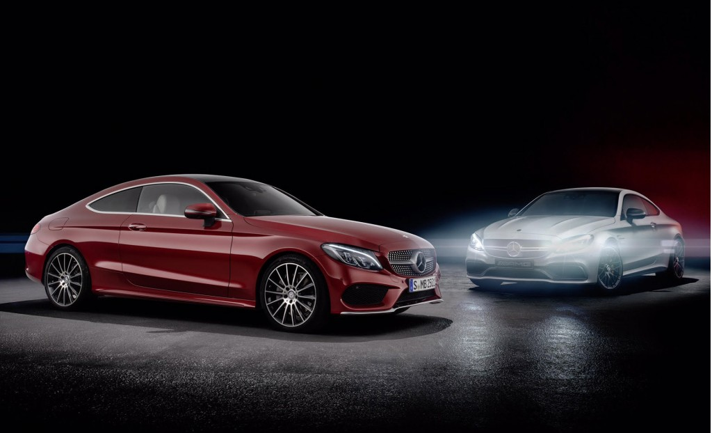 Compare and contrast the new c class coupe to the upcoming c63 - Mercedes benz c class coupe amg ...