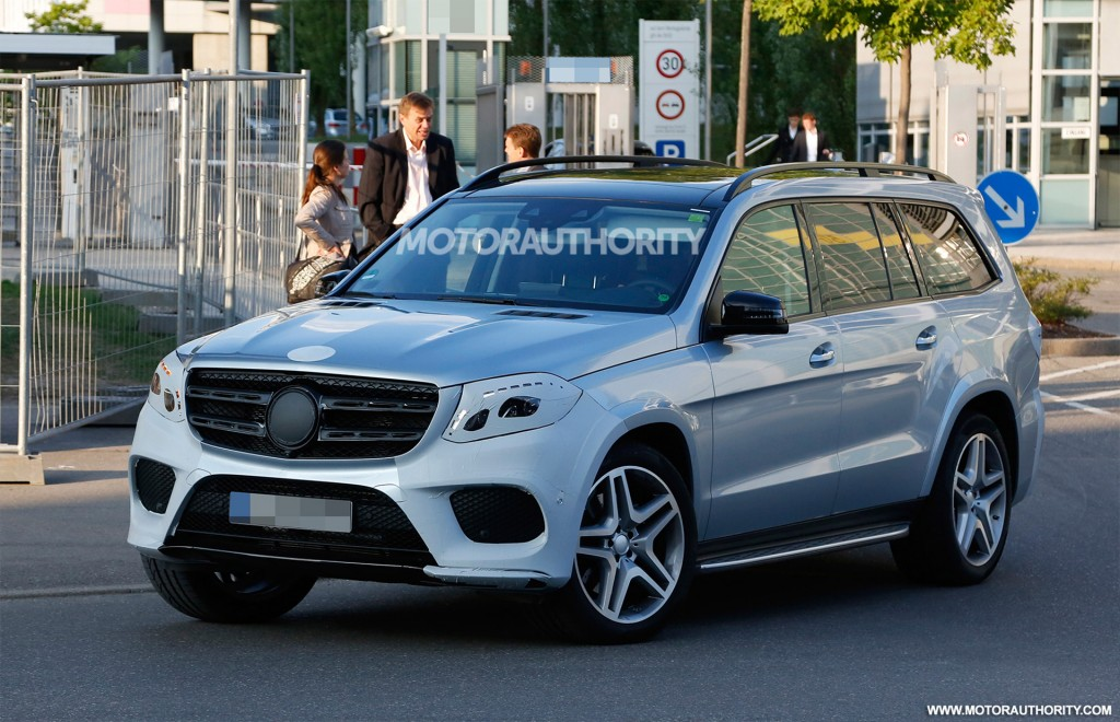2017 mercedes benz gls leaked photo update for 2017 mercedes benz gl450