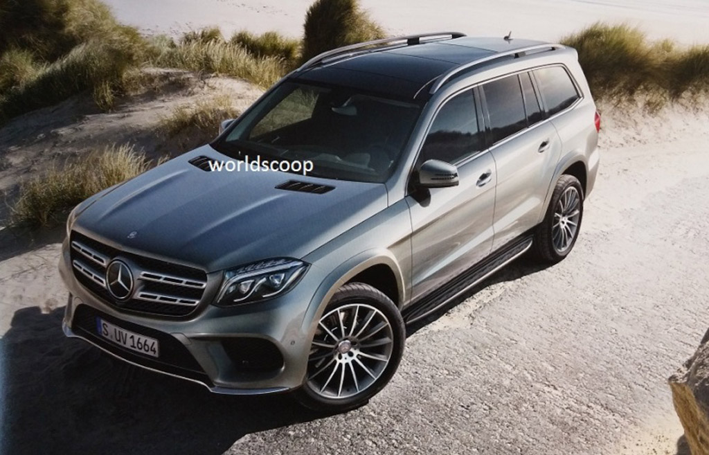 2017 mercedes benz gls leaked photo update