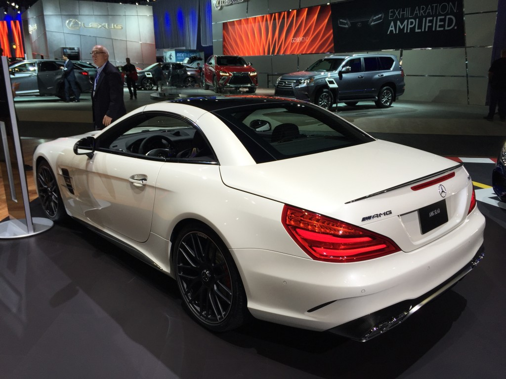 Mercedes Car Leases Los Angeles >> Image: 2017 Mercedes-AMG SL63, 2015 Los Angeles Auto Show, size: 1024 x 768, type: gif, posted ...