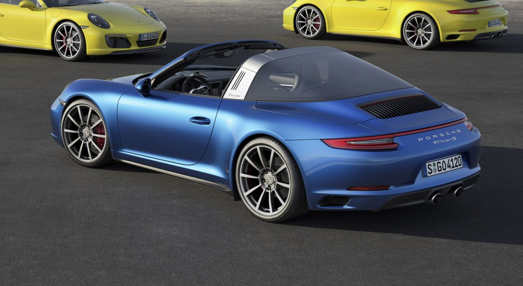 2017 porsche 911 carrera 4 and targa 4 models make debut. Black Bedroom Furniture Sets. Home Design Ideas