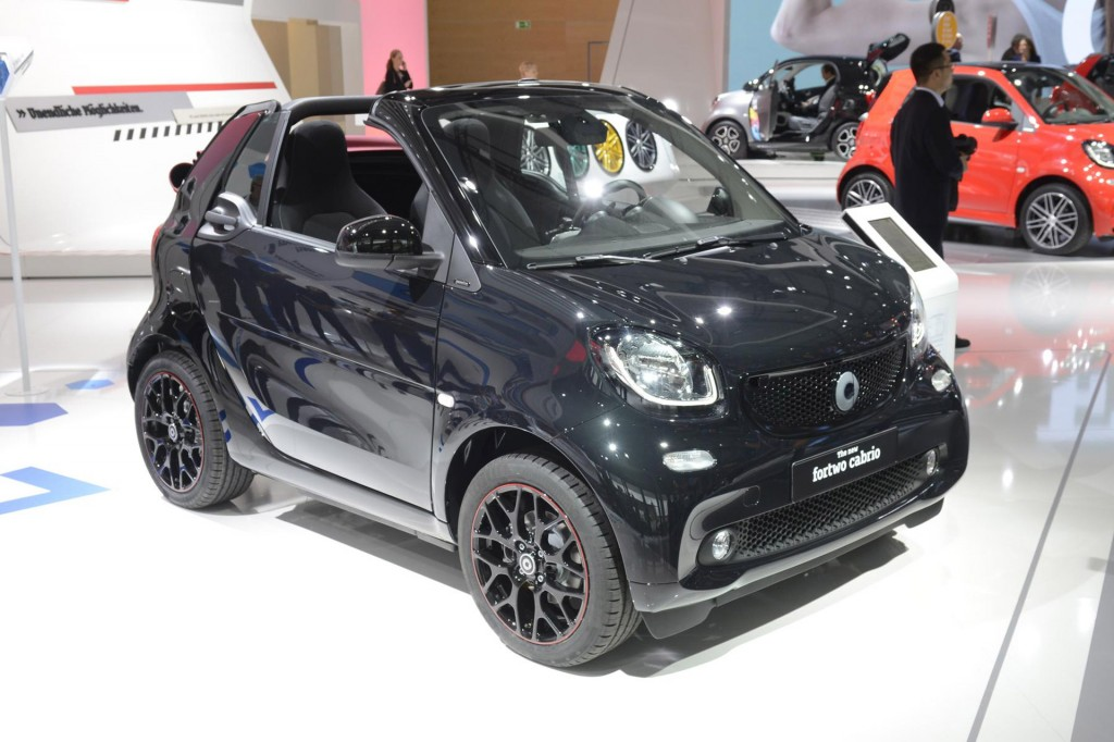 2017 smart fortwo cabrio 2015 frankfurt auto show. Black Bedroom Furniture Sets. Home Design Ideas