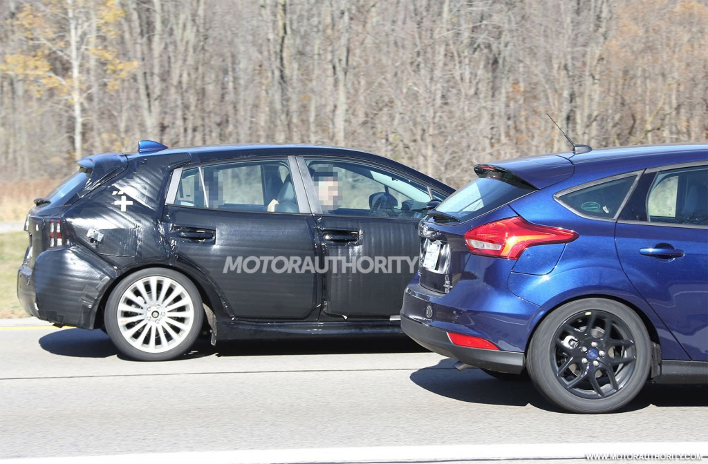 2017 subaru impreza hatchback spy shots image via s baldauf sb medien. Black Bedroom Furniture Sets. Home Design Ideas